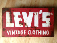 Old Levi sign